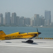 Early training top spot for team Breitling