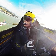 Pilots look over Dover ahead of Ascot Air Race