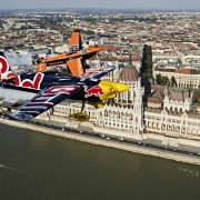The Red Bull Air Race will celebrate its 70th race this weekend: Budapest, Hungary