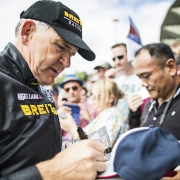 British pilot Nigel Lamb bids farewell to Ascot
